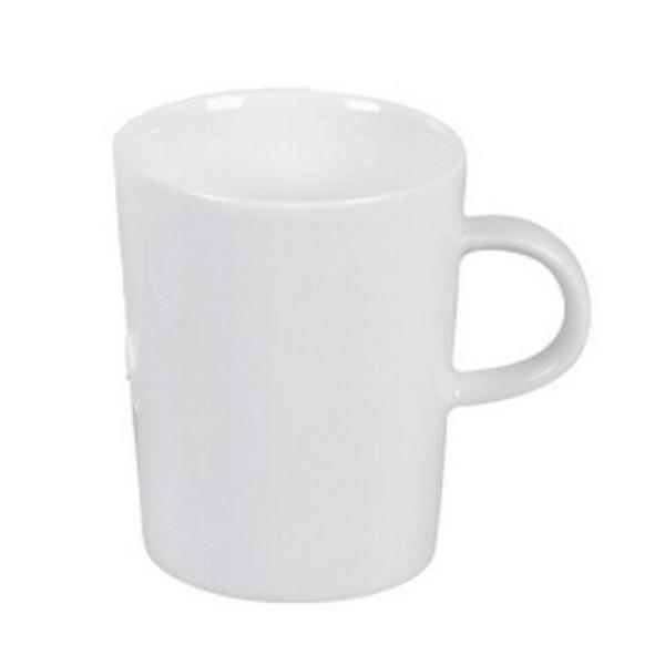 Arzberg Cucina Becher weiß Porzellan Kaffeebecher Henkelbecher