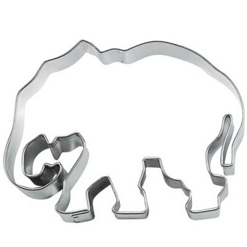 Ausstechform Elefant 6 cm Ausstecher Edelstahl Städter