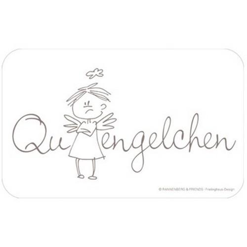Rannenberg & Friends Frühstücksbrettchen Quengelchen Engel Engelchen