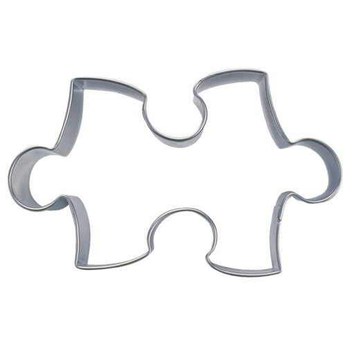 Ausstechform Puzzle 6 cm Ausstecher Puzzleteil Städter