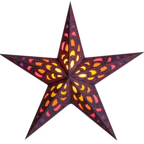 Starlightz Leuchtstern Nari ruby Stern Papier Weihnachtsstern