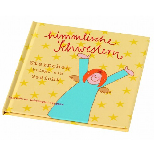 Himmlische Schwestern Sternchen bringt ein Gedicht Buch Weihnacht Engel Deko