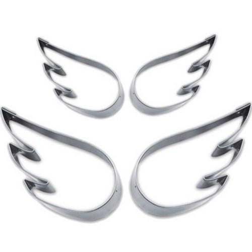 Ausstechform Flügel Ausstecher Set Engelflügel 4 Stück Städter