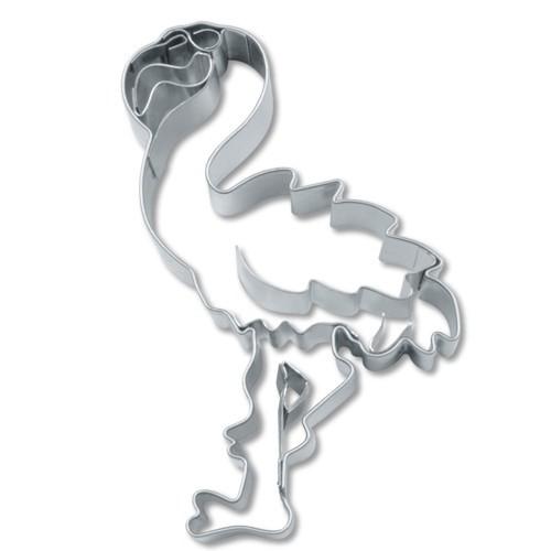 Ausstechform Flamingo 7 cm Ausstecher Städter Edelstahl