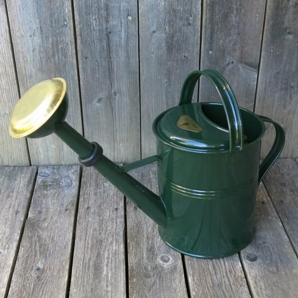 Gießkanne grün 5 l englischgrün Zink verzinkt Zinkgießkanne Metall