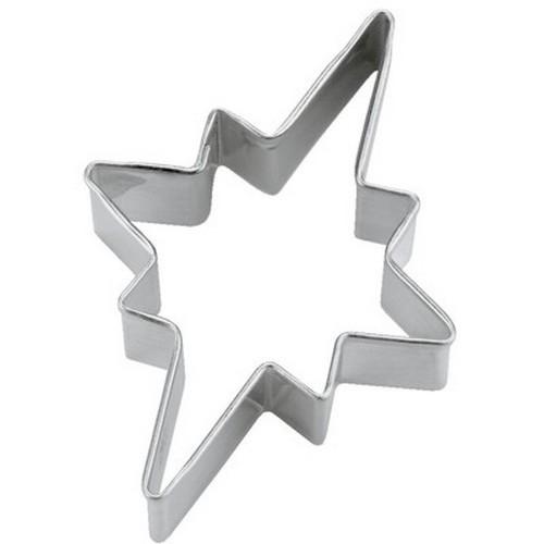 Ausstechform Sternschnuppe 6 cm Ausstecher Stern Städter