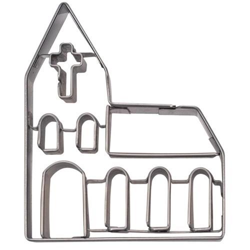 Ausstechform Kirche 9 cm Ausstecher Städter