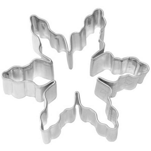 Ausstechform Eiskristall 6 cm Ausstecher Birkmann