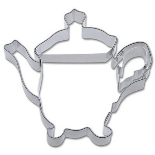 Ausstechform Teekanne 8 cm Ausstecher Kaffeekanne Städter